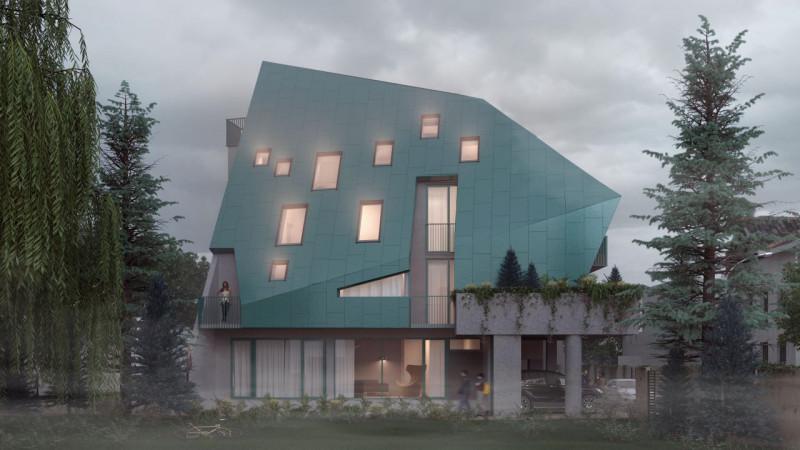 Apartament –loft cu terasa de 14mp la 4 minute de Metrou Muncii!