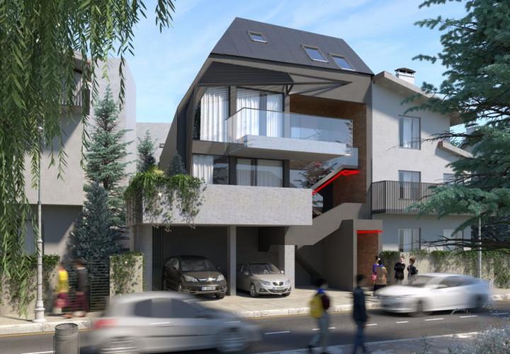 Apartament –loft cu terasa de 14 mp la 4 minute de Metrou Muncii!