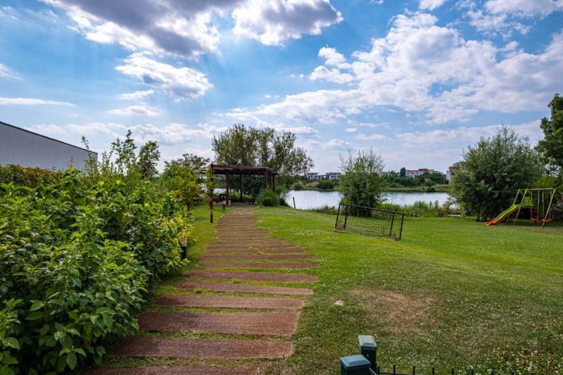 Straulesti, Baneasa 4 camere de inchriat, vedere lac, parcare subterana