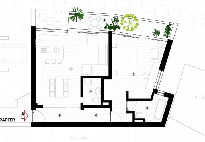 Apartament situat intr-o vila 2020 la 3 minute de piata Muncii!