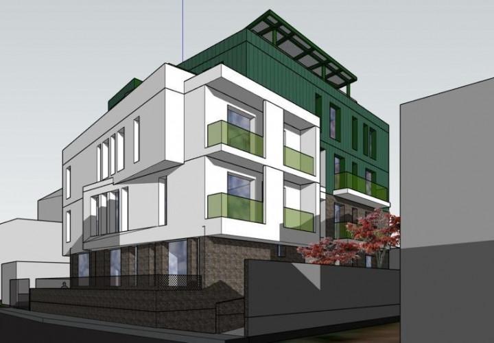 Apartament cu 3/4 camere si terasa de 30 mp intr-o zona de case!